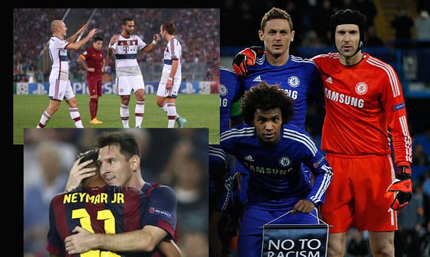 Čech udržel nulu, Chelsea vyhrála. Bayern zničil AS Řím 7:1