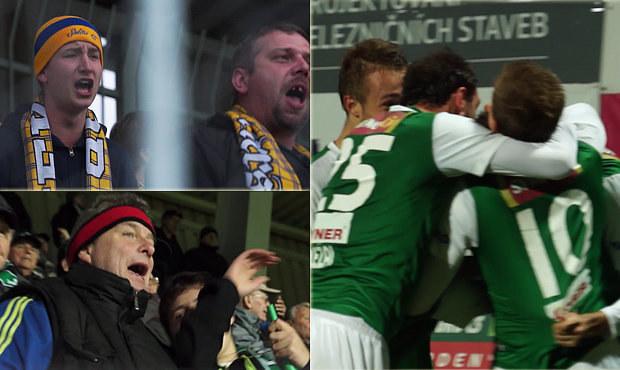 UNIKÁTNÍ VIDEO: Jablonec zdolal Teplice. 6 gólů i emoce v hledišti