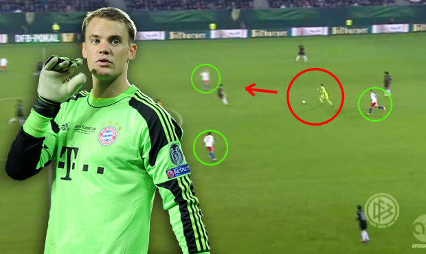 Falešný stoper Neuer na výletě: Nemůžu jen stát ve vápně