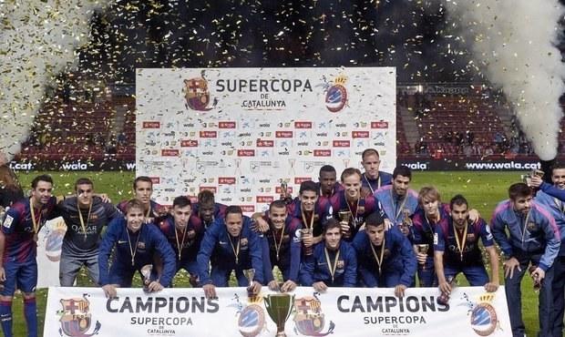 Jako v Česku! Barcelona má první trofej, přišlo jen 5 000 diváků