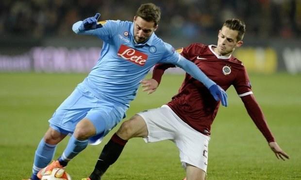 ONLINE: Boj o postup v Evropské lize. Sparta hraje s Neapolí 0:0