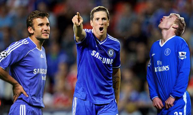 TOP 15 nejhorších posil Chelsea: Ševčenko, Torres i Jarošík
