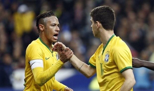 Brazílie vyplenila Francii 3:1, rozhodující gól dal Neymar