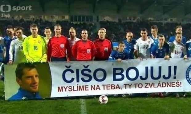 Čišo bojuj! Slováci a Češi povzbudili vážně nemocného Čišovského