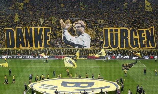 Kloppova úžasná rozlučka. Dortmund bouřil, kouč plakal