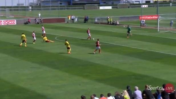 PŘÍMÝ PŘENOS: Sparta vede nad Třincem 1:0, poprvé vyhrála 5:0
