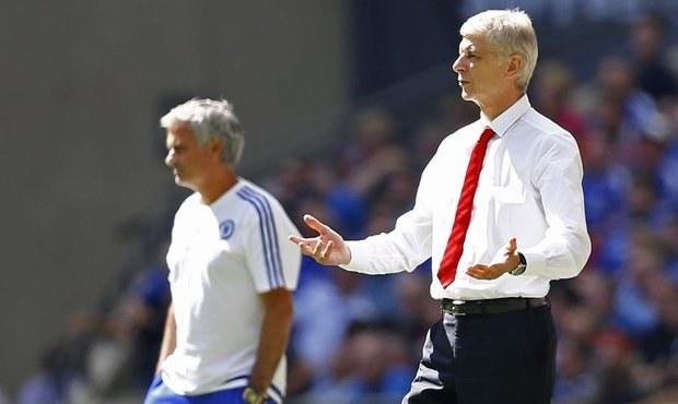 Mourinho a Wenger si nepodali ruce. Kouč Chelsea zahodil medaili