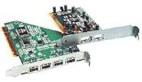 Přídavné karty s řadičem USB  umožňují připojení USB zařízení i do počítačů bez konektorů tohoto typu na základní desce