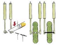 Rýsovací jehla - skalpel - vrták