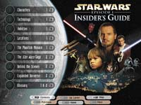 Star Wars Epizoda I - Insider's Guide
