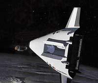 V USA se již několik let pracuje na vývoji vesmírných nosičů, které by měly po všech stránkách nahradit stávající raketoplány. Tento vesmírný letoun má označení X-33