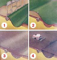Proces vzniku půdních příznaků historického objektu