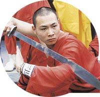 Umění gong-fu [kung fu] vyžaduje kromě fyzické zdatnosti i velké psychické soustředění