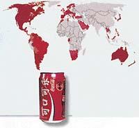 Množství vypitých skleniček (0,2 l) coca-coly na osobu