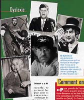 Narodili se jako dyslektici, ale nepropadli beznaději. Patří mezi ně třeba režisér Steven Spielberg (autor filmů Jurský park, E. T. mimozemšťan aj.), Walt Disney, John Lennon z legendární skupiny Beatles, prezident USA J. F. Kennedy, Albert Einstein