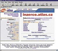 Hlavní stránka portálu Atlas