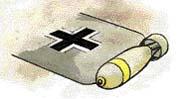 detail bombardovací verze