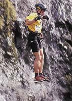 V průběhu riskantního sportovního výkonu člověk nesmí ztratit sebekontrolu