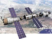 Současný stav ISS: zleva - Zvězda, Zarja a Unity