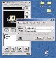 Ukázka programu NetMeeting