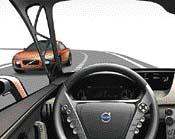 Průhledné přední sloupky umožňují řidiči bezproblémový výhled do stran
