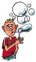 Vlastnosti mýdlových bublin