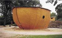 Příď Noemovy archy - originální divadelní jeviště