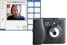 Pouze základní funkce nabízí software Kodaku EZ 200 - kvalita fotografií je ovšem zcela shodná s ostatními fotoaparáty