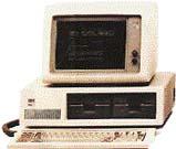 První IBM PC  - základ nového standardu výpočetní techniky