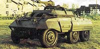 Kolové obrněné vozidlo M20 armády USA