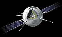 Ochranné štíty družice