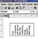 Formát - Směr textu