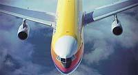 Čtyřmotorový Airbus A-340 v barvách společnosti Air Jamaica