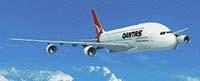 Megaliner A-380 ponese barvy společnosti QANTAS Airways