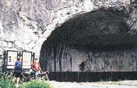 Jeskyně Kůlna v Moravském krasu