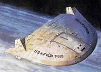 Létající talíř, nebo vesmírná ponorka?