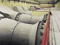 Pohled do strojovny vzduchotechniky