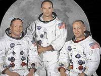 Neil Armstrong, Edwin Aldrin a Michael Collins - kteří se jako první lidé zúčastnili úspěšné výpravy na Měsíc