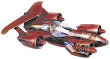 Konečné řešení Skycaru: přední reflektor; zasunuté příďové kolo; úložní prostor; palivová nádrž; palubní počítač a čidla; ovládání (plyn); padák; protisměrné lopatky; rotující motory; nastavitelná  křidélka; hlavní převod; palivová nádrž