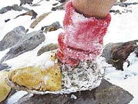 Drsné podmínky alpské expedice potvrdily použitelnost ötzek v horských podmínkách