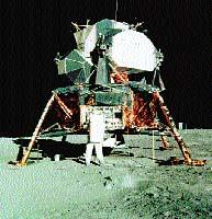 Některé viry napadající bakterie připomínají přistávací modul lodi Apollo, který dopravil první astronauty na povrch Měsíce. Přistanou na bakterii, rozruší její ochranné obaly a vstříknou do ní své geny
