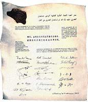 Dne 9. prosince 1979 Světová zdravotnická organizace slavnostně oznámila vyhubení pravých neštovic (vlevo). Virus dnes existuje (snad) jen ve dvou laboratořích v Moskvě a Atlantě