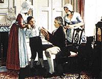 První očkování proti pravým neštovicím vyzkoušel roku 1796 Edward Jenner na svém synkovi