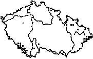 Vlk obecný 1970 - 2000