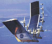 Solární letoun