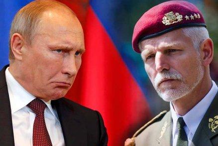 Rusko ohrožuje Česko víc než terorismus, varuje generál Petr Pavel
