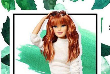 Barbie má nové jarní účesy  Jak se vám líbí s mikádem a červeným přelivem    6eaa59bd1be