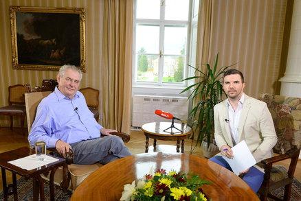 Zeptejte se ZDE Miloše Zemana: V neděli s ním vysíláme živý rozhovor z Lán