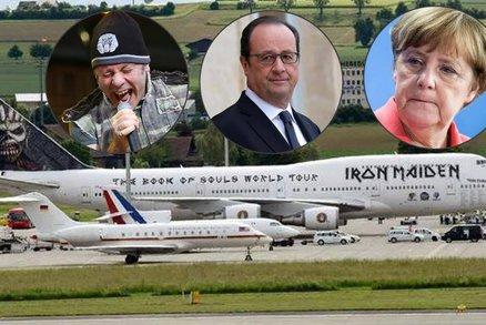 Letadlo Iron Maiden Zesmesnilo Stroje Merkelove A Hollandea