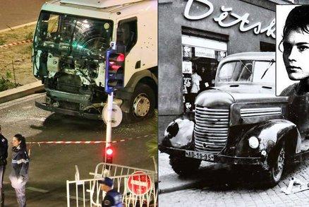 Výsledek obrázku pro foto vraždy v autech vánočním trhu v Nantes